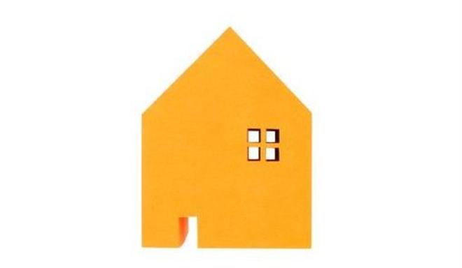 家の形をしたメモブロック HOME MEMO BLOCK004