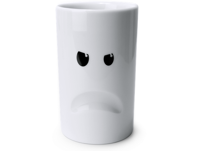 気分に合わせてチョイス 表情豊かなマグカップ MOOD MUGS007