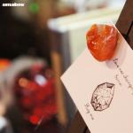 きれいな天然石のマグネット amabro Stone Magnet