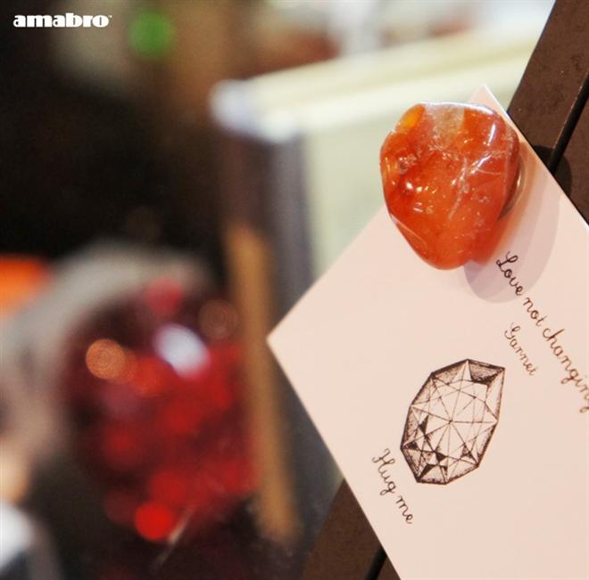 きれいな天然石のマグネット amabro Stone Magnet003