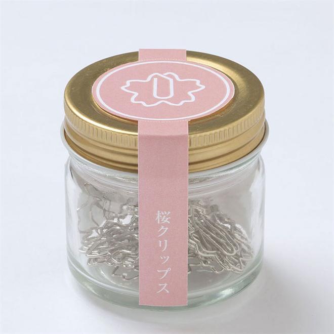桜の花の形をしたクリップ 桜クリップス003