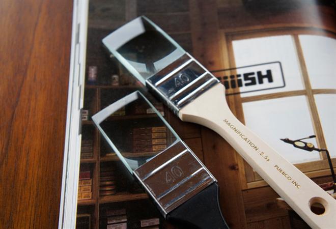 ペイントブラシの形をしたルーペ PUEBCO PaintBrush MAGNIFYING GLASS004