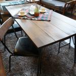 無垢の天然木をオイルフィニッシュで仕上げたダイニングテーブル&チェア BIMAKES SHINBASU DINING