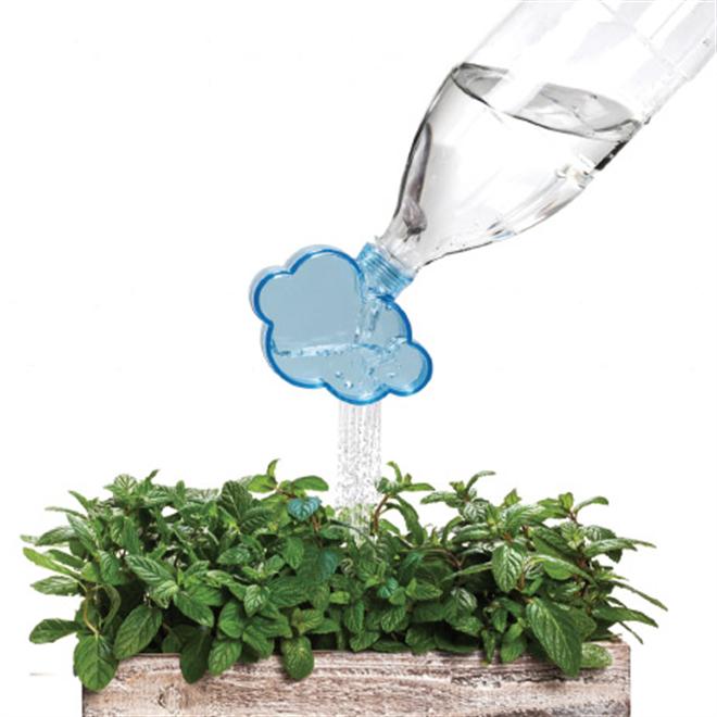 ペットボトルに取り付ける緑に水を与える雨雲 MONKEY BUSINESS Rainmaker002