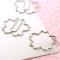 桜の花の形をしたクリップ 桜クリップス002