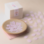 桜の花びらそっくりな石けん さくら石鹸