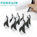 文字を消しちゃうペンギンさん ペンギン型の修正テープ