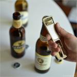 特大のジッパーでボトルを開栓 zip it open bottle opener