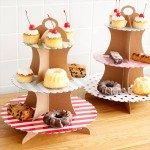 組み立て式のカップケーキスタンド パーティーパーティ カップケーキスタンド