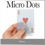 透けてるようで透けてない不思議なカード micro dots transparent card