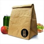 紙袋みたいな見た目 でも実は丈夫なバッグ Luckies BROWN PAPER BAG