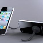 スマートフォンにしっぽが生えた!? 取り外しできるスマートフォンスタンド Mobile Tail