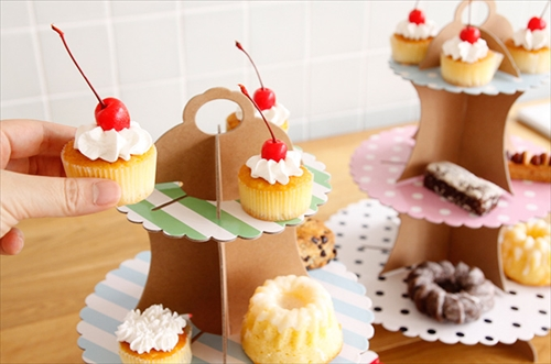 Party Party Cup cake stand004