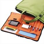 かばんの中を整理する小さなかばん LIHITLAB バッグインバッグ