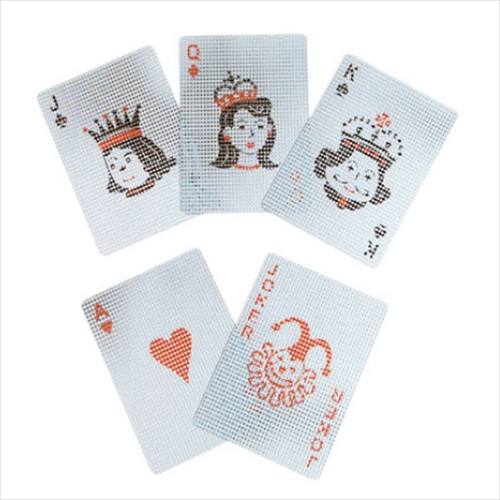 micro dots transparent card003