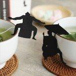 役者がそろった! ユーモアたっぷりな日本茶のティーバッグ 役者TEA BAG