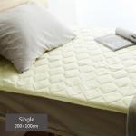 ひんやり感がたまらない  冷感敷きパッドは寝心地良し!